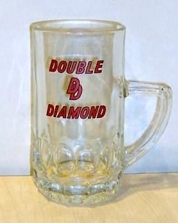Double Diamond Beer Glass